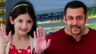 Salman Khan & Harshaali Malhotra's ad is as silly as it gets! Watch video