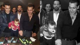 Salman Khan celebrates his 51st Birthday: Shares pic with nephew Ahil cutting Being Human cake on social media
