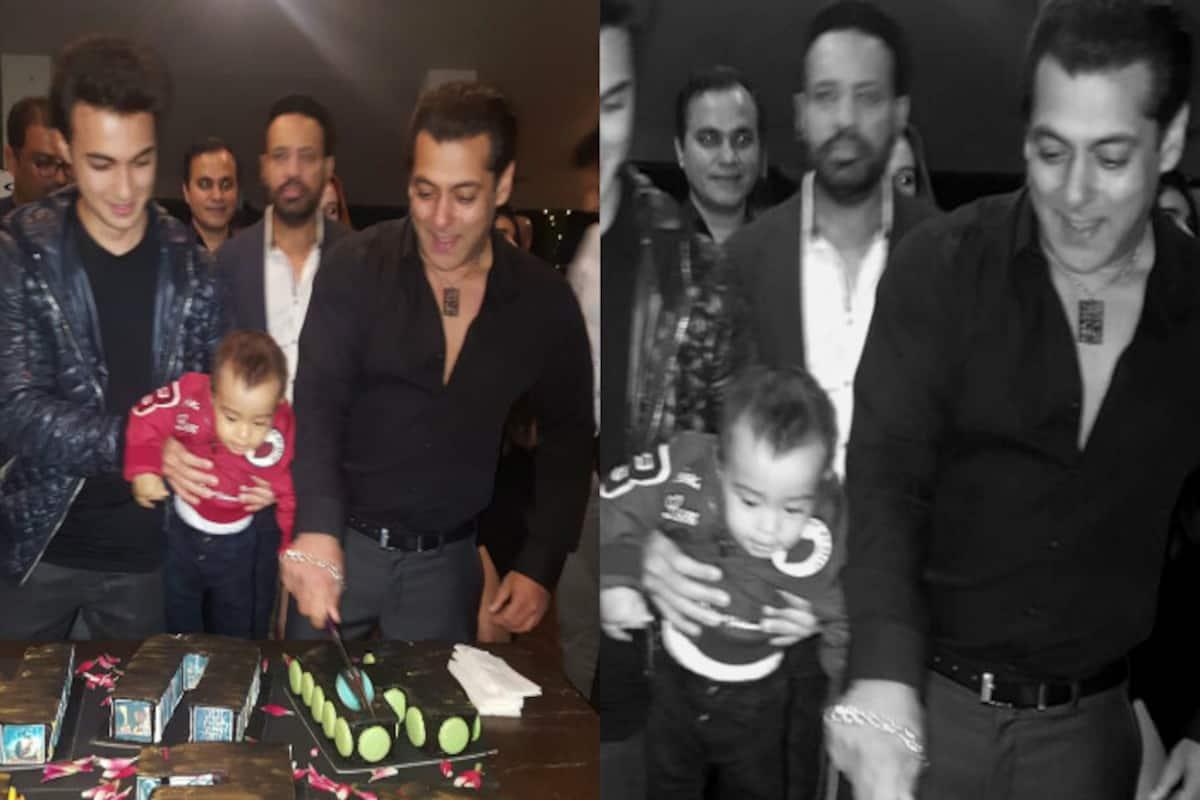 Phenomenal Salman Khan Celebrates His 51St Birthday Shares Pic With Nephew Personalised Birthday Cards Petedlily Jamesorg