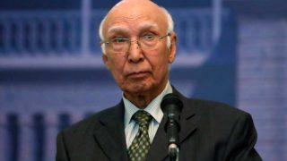 Kulbhushan Jadhav's death sentence: Pakistan's Sartaj Aziz had said there was no conclusive evidence against Kulbhushan Jadhav