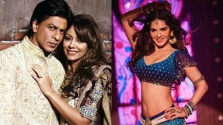 Shah Rukh Khan & Gauri Khan are Sunny Leone's newest fans in town! Here's proof