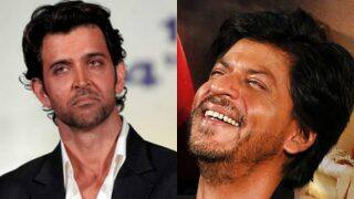 What? Shah Rukh Khan mocks Hrithik Roshan's biggest flop movie? (Watch viral video)