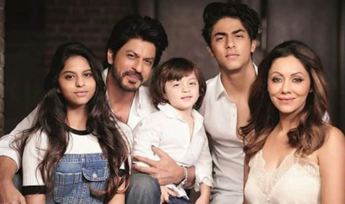 Image result for shah rukh khan and gauri family