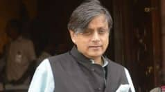 Shashi Tharoor's Delhi home robbed, FIR lodged