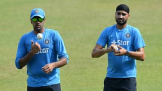 Harbhajan Singh resolves his rivalry with Ravichandran Ashwin sending him a congratulatory message on winning ICC Player of the Year award