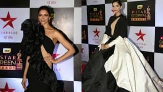 Deepika Padukone vs Sonam Kapoor: Who wore the monochrome gown better at the Star Screen Awards 2016?
