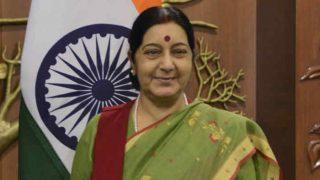Sushma Swaraj effect: Amazon retracts doormat with Indian flag fearing visa ban