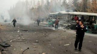 कार बम हमले में 13 जवानों की मौत, 48 घायल : तुर्की