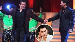 See pictures: Is Aamir Khan the third wheel in the Shah Rukh Khan-Salman Khan BROMANCE?