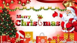 Christmas Wishes in Hindi -  Merry Christmas Quotes, Messages, SMS, Shayri, Gif Images, Whatsapp & Facebook Status in Hindi