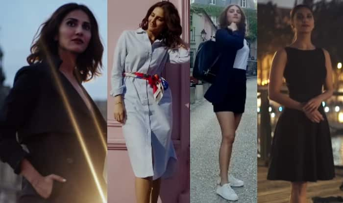 Vaani Kapoor in Befikre French dressing