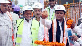 उत्तर प्रदेश: मुख्यमंत्री अखिलेश यादव ने लखनऊ मेट्रो के ट्रॉयल रन का किया शुभारंभ