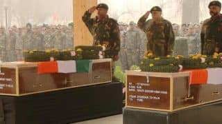 Army pays tribute to soldiers killed in Pampore attack