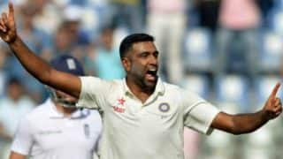 Ashwin gleeful at being named ICC Cricketer of the Year