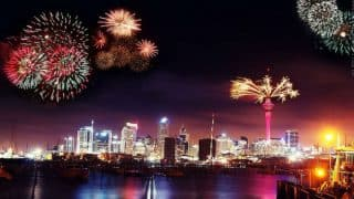 Happy New Year 2017 Live Updates: New Zealand embraces 2017, countdown begins in India, across the World