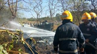 Mumbai Helicopter crash: 2 dead, 2 injured in chopper accident in Aarey Colony