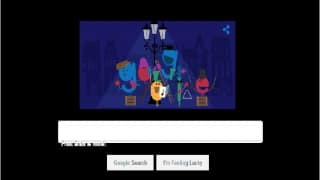 'Tis the season: Google releases doodle to celebrate the beginning of the Holiday season