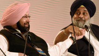 Akali-Congress bitter-sweet memories: Sukhbir Singh Badal recalls touching feet of Capt Amarinder Singh even in jail