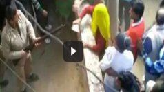 Bulandshahr: Nasty brawl after woman jumps bank queue, prompts cops…
