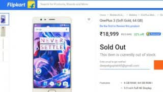 Flipkart Big Shopping Days Sale: OnePlus 3 sold out, Moto Z, Google Pixel and Apple iPhone 7 exchange offers