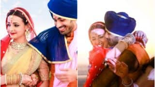 Sanaya Irani and Mohit Sehgal's wedding album is OUT on Instagram! Telly couple's marriage pictures are way too adorable