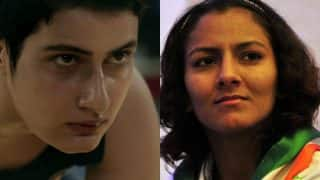 Geeta Phogat got hurt and emotional watching this Dangal scene! It is not the Commonwealth Games 2010 final fight