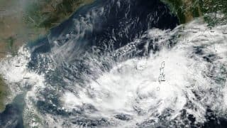 Cyclone Vardah satellite images: NASA releases pictures of Vardah in Bay of Bengal