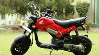Honda Navi wins best two-wheeler of 2016 at India.com Auto Awards