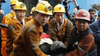 38 miners killed in two separate coal mines explosions in China