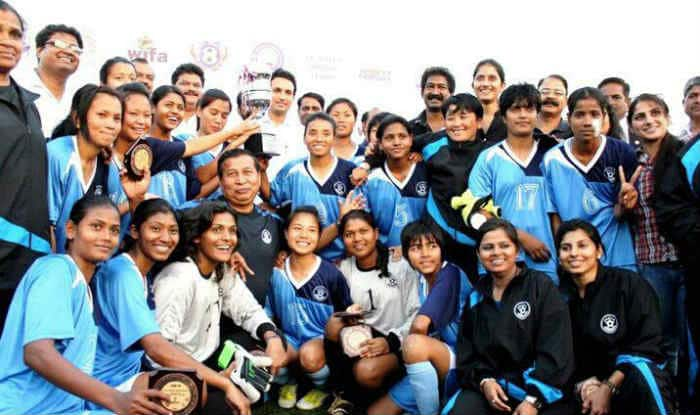 Indian women's football team