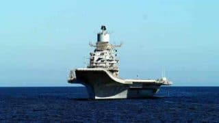 Fire Breaks Out Onboard INS Vikramaditya, Naval Officer Succumbs to Injuries