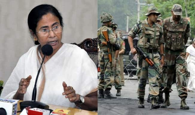 In almost all areas of West Bengal army has been deployed : WB Police