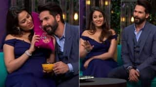 Koffee with Karan season 5: This is what Mira Rajput says hubby Shahid Kapoor before going to bed- Watch video