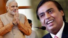 Mukesh Ambani: I want to congratulate Prime Minister Narendra Modi…