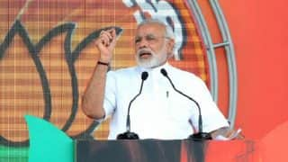 Narendra Modi rally in Moradabad: PM makes a poll pitch for BJP, vows to eradicate poverty from Uttar Pradesh