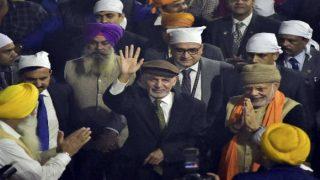 अमृतसर: PM मोदी के साथ स्वर्ण मंदिर पहुंचे अफगान प्रेसीडेंट अशरफ गनी, लोगों को खिलाया लंगर