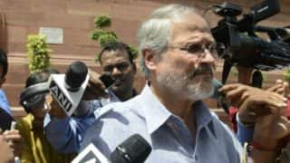 Former Delhi LG Najeeb Jung was considered to be removed in June by Modi government