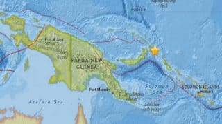 Tsunami alert issued after 8.0 magnitude earthquake hits Papua New Guinea