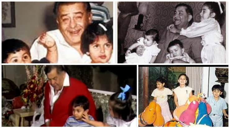 Raj Kapoor Birthday Special Kareena Ranbir Karisma Relive Their Childhood Memories UNSEEN Pics And Videos