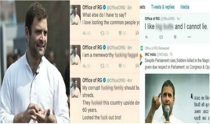 Rahul Gandhi twitter account hacked; Congress files complaint with Delhi Police cyber cell