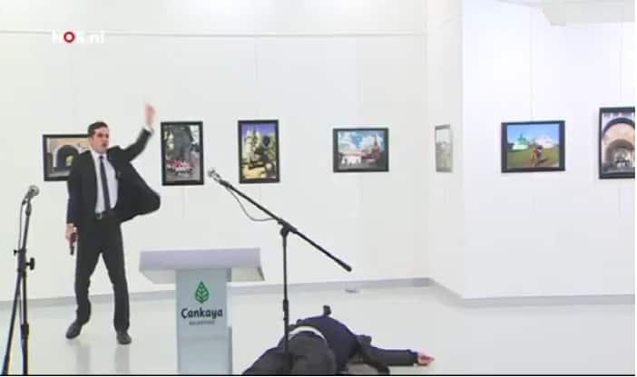 Russian ambassador to Turkey killed by gunman in Ankara
