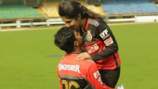 Anna Chandy clean bowls Sachin Baby! Watch RCB player announce his marriage with girlfriend in this beautiful video