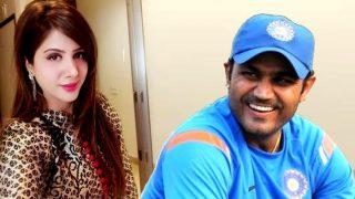 सहवाग ने अपने ख़ास अंदाज़ में पत्नी को दी जन्मदिन की बधाई