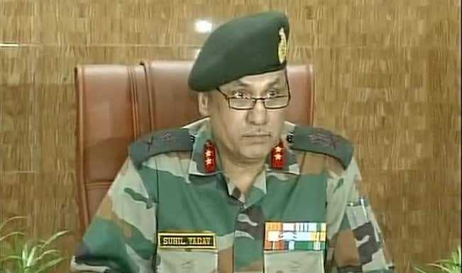 Army deployment : We deny this charge: Major General Sunil Yadav