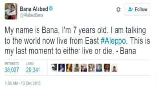 I hope I could broadcast our live death to you:  Syrians share heartbreaking 'goodbye' messages from Aleppo