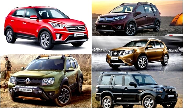 top 5 compact suv of 2016 on sale in india. Black Bedroom Furniture Sets. Home Design Ideas