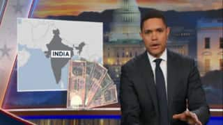 Trevor Noah's sketch on demonetisation and national anthem might offend a few Indians