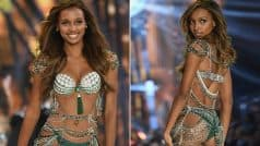 Model Jasmine Tookes flaunts 450-carat Fantasy Bra at Victoria's Secret…