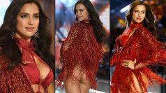 Wait, what! Pregnant supermodel Irina Shayk rocks the ramp in…