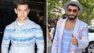 Check this out! Aamir Khan can give Ranveer Singh a complex with his quirky fashion sense!